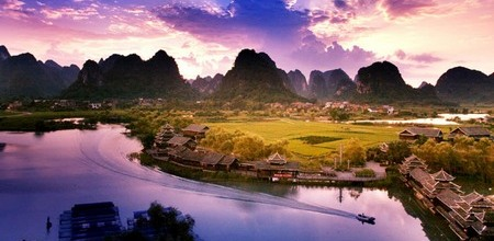 Paisaje de Guilin